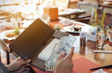waiter check
