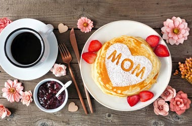 mothers day pancakes