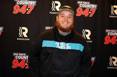 Luke Combs at New York's Country 94.7