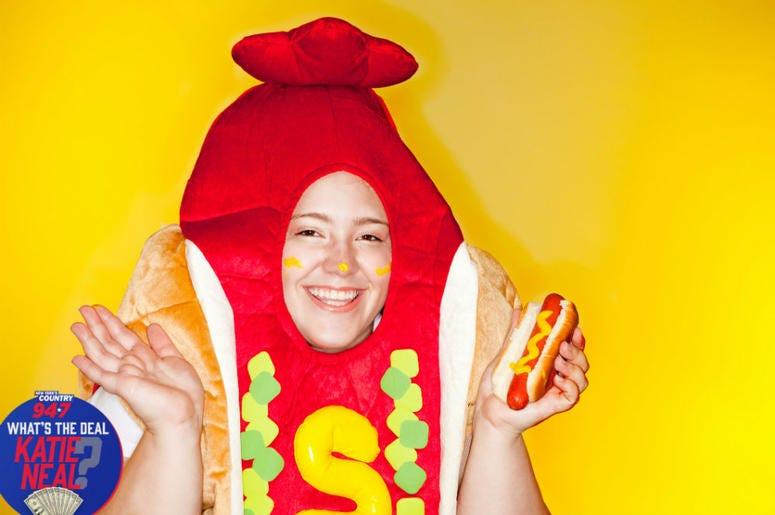 hotdog halloween costume