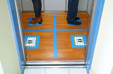 social distancing elevator