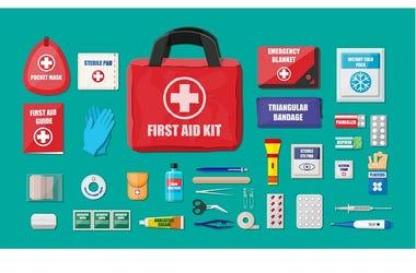 Hurricane medical supplies