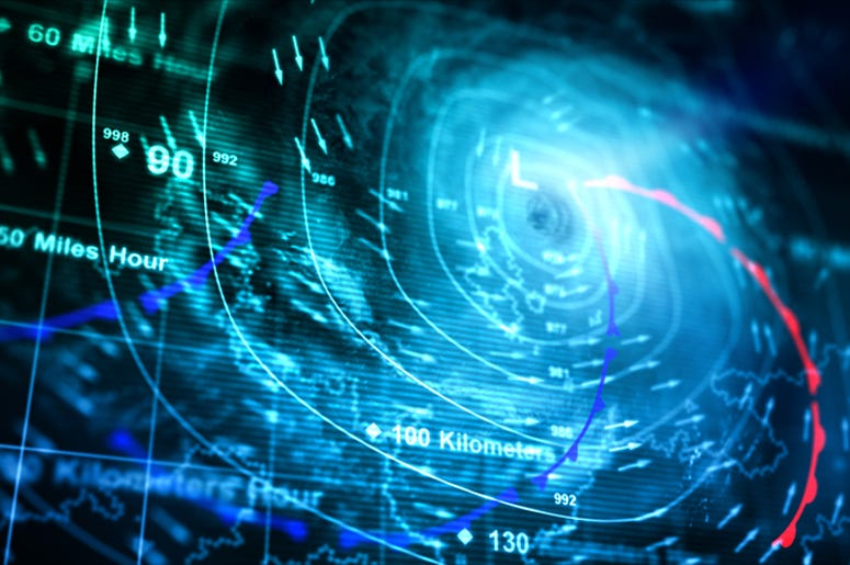 hurricane radar