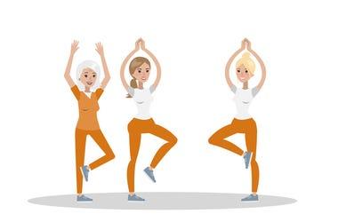 female prison yoga