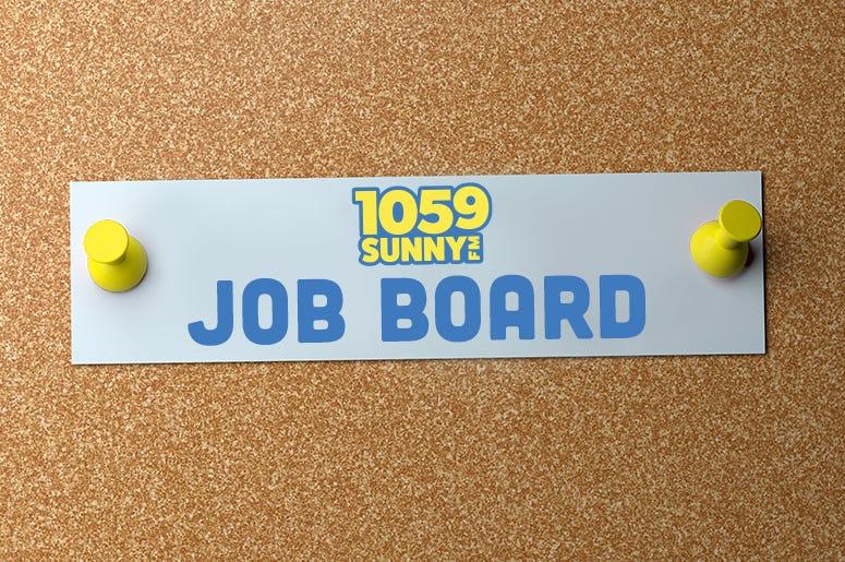 Job Board 1059 SUNNY FM