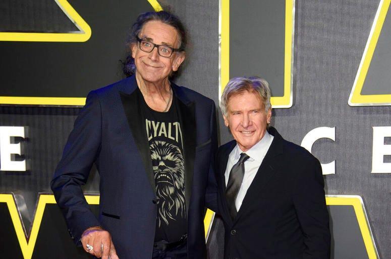 Peter Mayhew, Harrison Ford