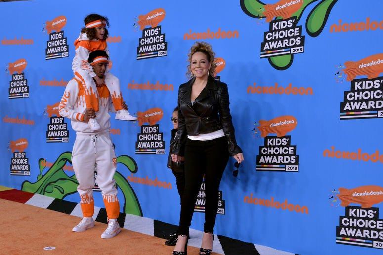 Nick Cannon and Mariah Carey