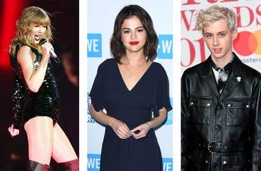 Taylor Swift Selena Gomez Troye Sivan