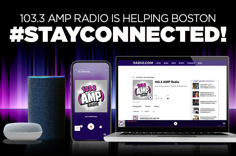 Stay Connected with 103.3 AMP Radio