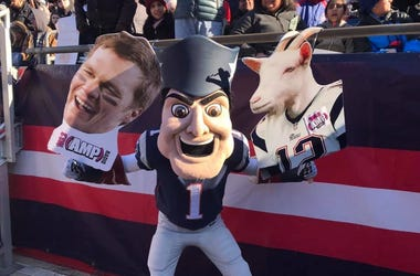 Patriots Sendoff Rally!