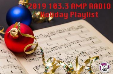 103.3 AMP Radio Holiday Playlist
