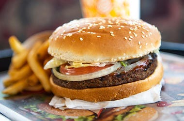 Vegan Whopper