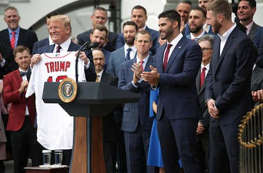 Red Sox White House with President