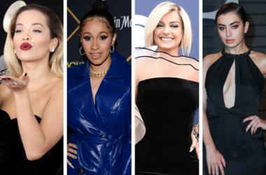 Rita Ora Charli XCX Cardi B Bebe Rexha