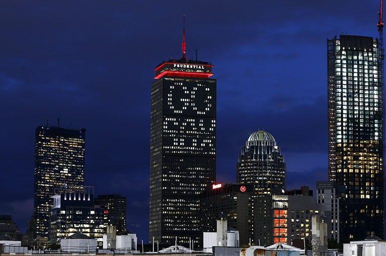 Boston Prudential Center Go Sox