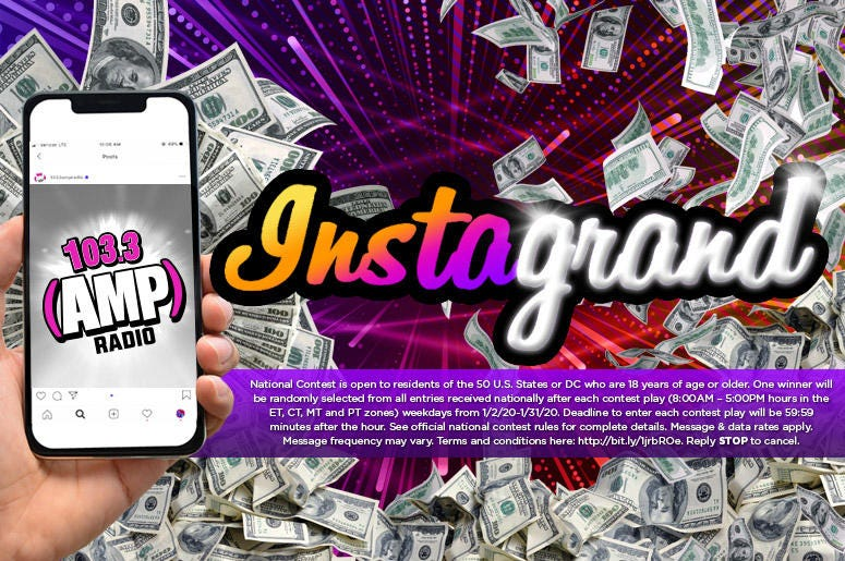 AMP Cash Contest Instagrand 2020