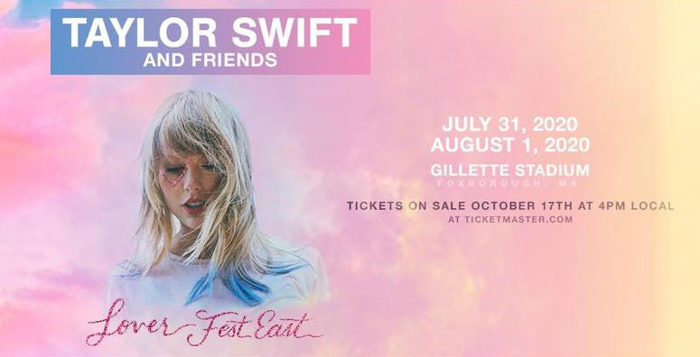 Taylor Swift Lover Fest East