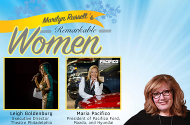 Remarkable Women Leigh Goldenburg and Maria Pacifico