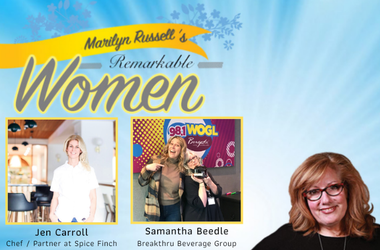 Remarkable Women Samantha Beedle and Jen Carroll