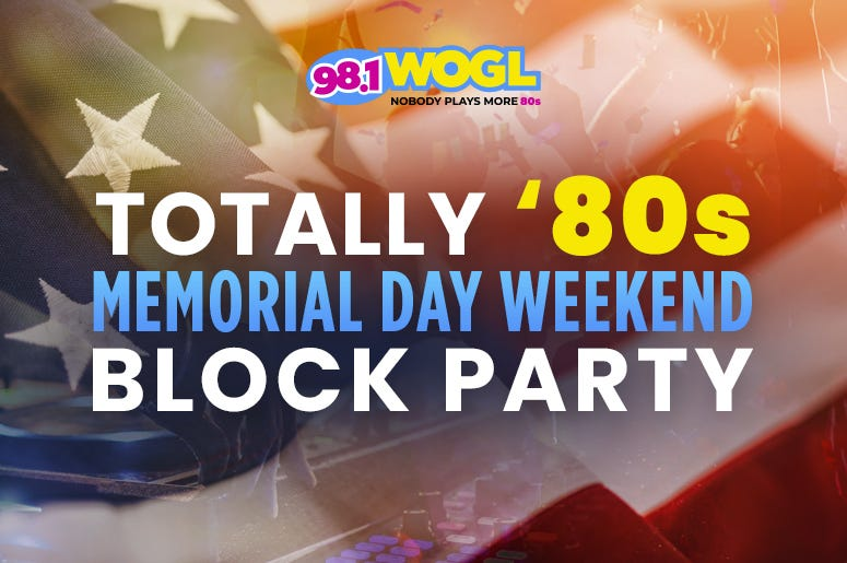 Totally 80s Memorial Day Block Party Weekend