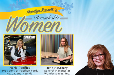 Remarkable Women Maria Pacifico and Jenn McCreary