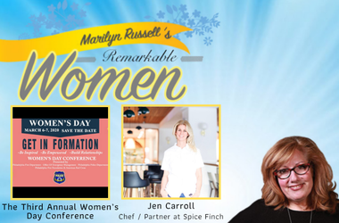 Remarkable Women -  Women's Day Event and Jen Carroll