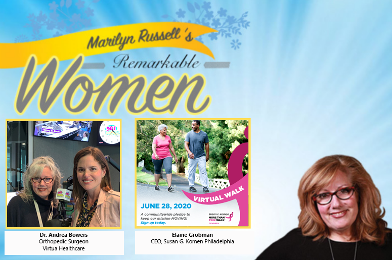 Remarkable Women: Dr. Andrea Bowers, Elaine Grobman