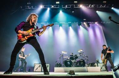 Kirk Hammett and Robert Trujillo