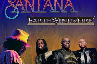 See Santana with Earth Wind & Fire on their 'Miraculous Supernatural 2020' Tour at the BB&T Pavilion on August 20, 2020!
