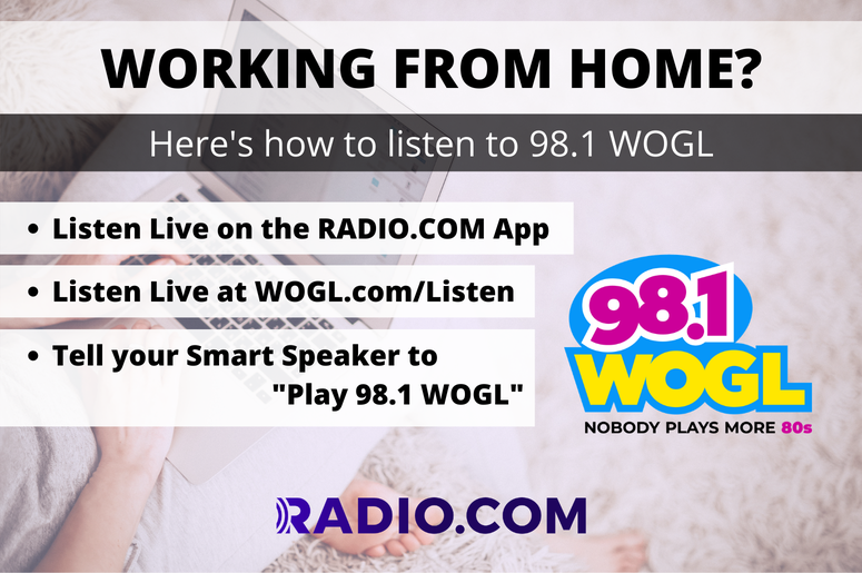 Listen to 98.1 WOGL Anywhere!