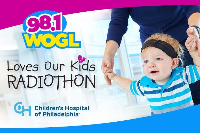 WOGL Love Our Kids Radiothon 2019 at CHOP, Children's Hospital of Philadelphia