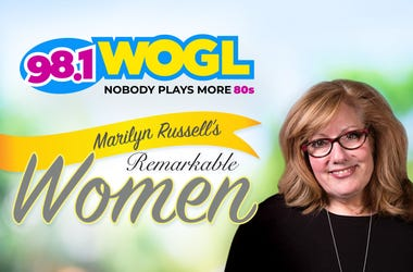 Marilyn Russell's Remarkable Women Podcast on 98.1 WOGL