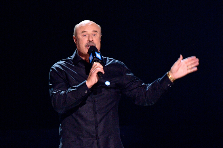 Dr. Phil speaks onstage at WE Day California at The Forum on April 19, 2018 in Inglewood, California.