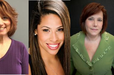 Nancy Venner, Chloe Johnston, Rachel Black