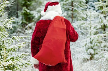 "Day 12: Jolly Jim's Sack is Overflowing for Our 12 Days of Christmas Giving! What ""gift"" did John Lange of Reedsburg find in there?"