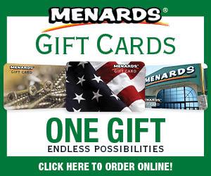 menards logo gift cards