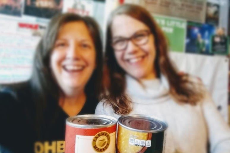 LISTEN: Structures Built with Cans for a Good Cause. Teri gets the Creative Scoop from M.O.M.'s Ellen Carlson