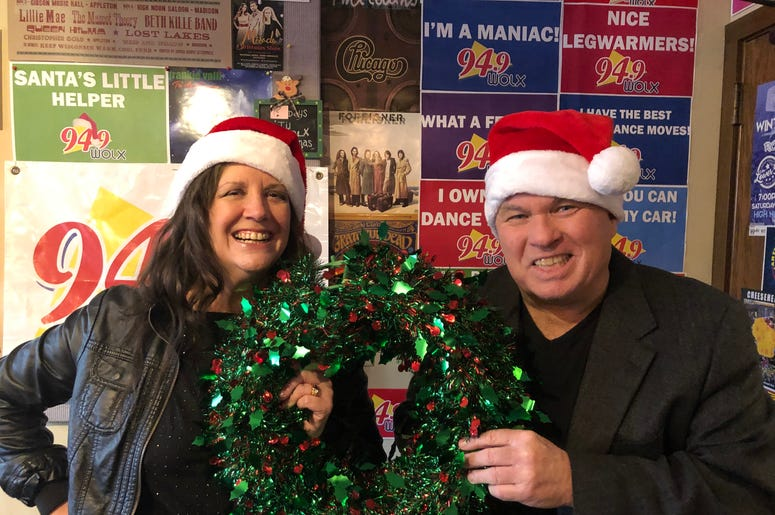 LISTEN: What's in Jolly Jim's Sack? Winner 8 gets some help from Teri and a few guest elves!