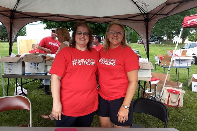 #SunPrairieStrong Event with WOLX, July 31, 2018