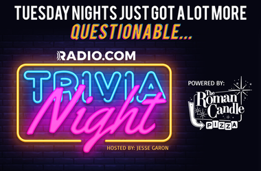Tuesday Night Trivia Banner - Roman Candle Sponsor