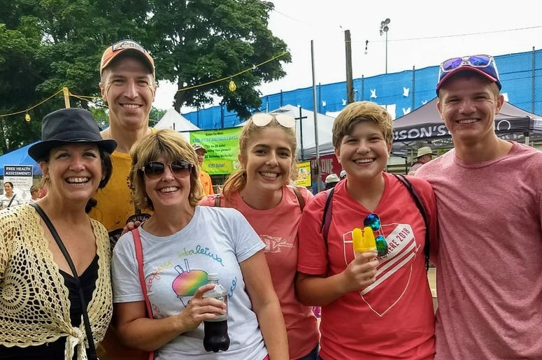 Fun with YOU at the Sweet Corn Festival