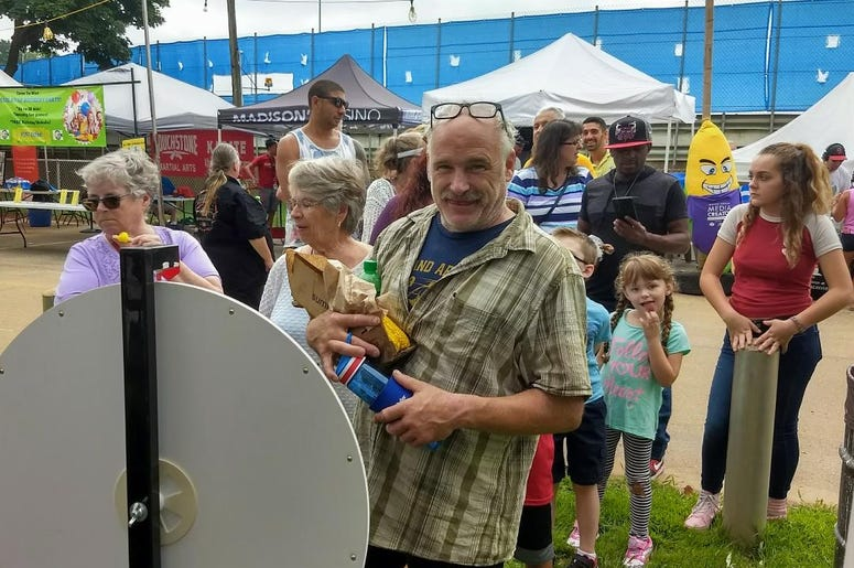 WOLX fun and games both at Sweet Corn Festival