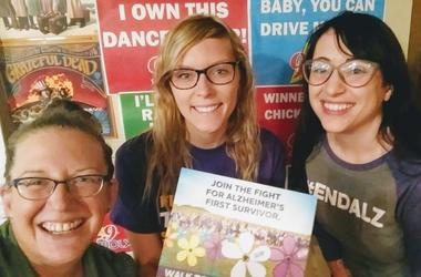 LISTEN: Fight for Alzheimer's First Survivor! Teri talks with Hanah from #ENDALZ & Karen shares a personal song about the disease