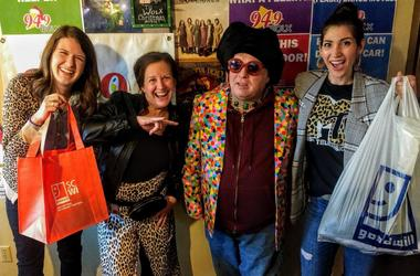 """LISTEN: Halloween Style from Goodwill? Addie & Hannah Help Jim & Teri get """"Dressed Up"""""""