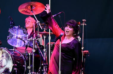 Ann Wilson performs at the Coral Sky Amphitheatre