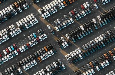 Many new cars