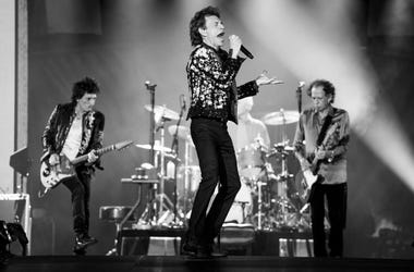 The Rolling Stones Billboards Pop Up In Detroit