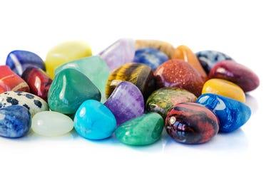 Multi color stones