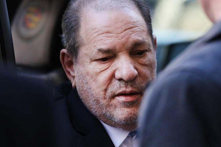 Harvey Weinstein Sentenced 23 Years