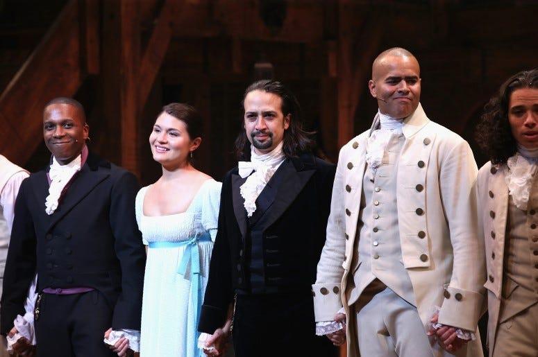 The cast of Hamilton surprises a young fan